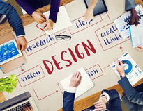 Creative Thinking Creativity Design Process Concept royalty free stock photos