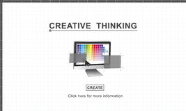 Creative Thinking Design Imagination Inspiration Concept Stock Photography