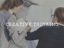 Creative Thinking Ideas Creativity Vision Strategy Concept Royalty Free Stock Image