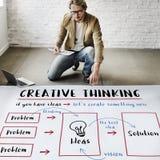 Creative Thinking Ideas Innovation Concept stock photo
