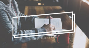 Creative Thinking Notes Frame Graphic Concept Royalty Free Stock Images