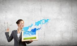 Creative thinking Stock Image