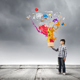 Creative thinking Royalty Free Stock Images
