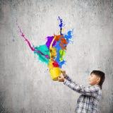 Creative thinking Royalty Free Stock Photo