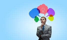 Creative thinking Stock Photo