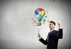 Creative thinking Stock Images