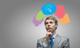 Creative thinking royalty free stock photos