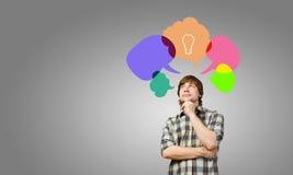 Creative thinking Royalty Free Stock Photography