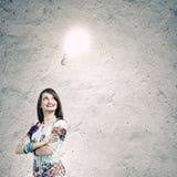 Creative thinking Stock Images