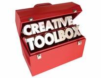 Creative Toolbox Imagination Ideas Inspiration Stock Images