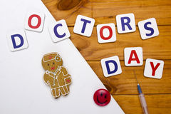 Creative on topic of day doctor Stock Images