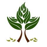 Creative tree pattern Royalty Free Stock Image