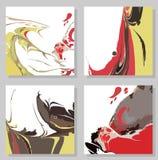 Creative trendy cards. Royalty Free Stock Photo