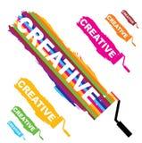 Creative Type Stock Image