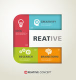 Creative typography Royalty Free Stock Photos