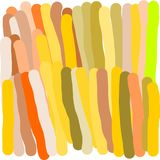 Creative universal abstract cards in green and blue and yellow and pink and brown tones. Abstract writing texture in green and blue and yellow and pink and Stock Photography