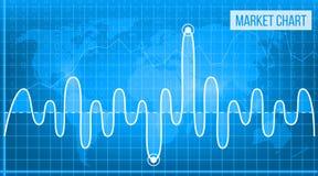 Creative vector illustration of business data financial charts. Finance diagram art design. Growing, falling market. Stock analysis graphics set. Concept Stock Image