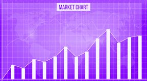 Creative vector illustration of business data financial charts. Finance diagram art design. Growing, falling market stock analysis. Graphics set. Concept Royalty Free Stock Photography