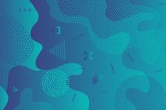 Creative vector illustration of children cartoon color splash background. Art design trendy 80s-90s memphis style. Geometric line shape pattern. Abstract royalty free illustration