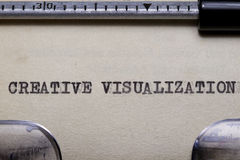 Creative Visualization Royalty Free Stock Photography