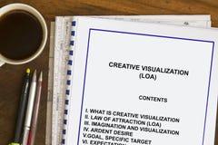 Creative visualization Stock Photo