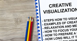 Creative Visualization concept Royalty Free Stock Images