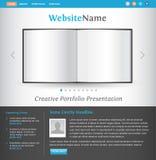 Creative web site design template Stock Image