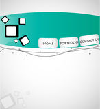 Creative Web template. (Vector Eps10 Stock Photo