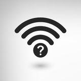 Creative WiFi Attention Stock Images