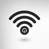 Creative WiFi Power Royalty Free Stock Images