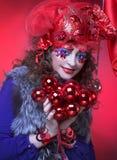 Creative woman. Royalty Free Stock Image