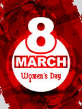 Creative women's day background. Royalty Free Stock Photos