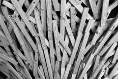 Creative wood pieces arrange into dynamic style. And layer Royalty Free Stock Image