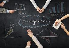 Creative work of business team Stock Photos