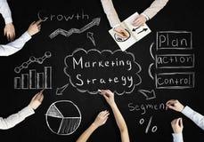 Creative work of business team Stock Photo