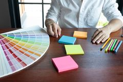Creative work on color Beautiful colors, various colors, color tones, color comparison.  royalty free stock photos