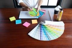 Creative work on color Beautiful colors, various colors, color tones, color comparison.  stock photography