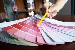 Creative work on color Beautiful colors, various colors, color tones, color comparison.  stock images