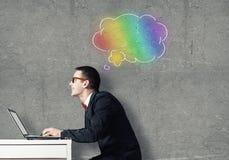 Creative work Stock Image