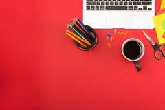 Creative workplace Stock Image