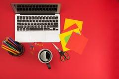 Creative workplace Stock Photos