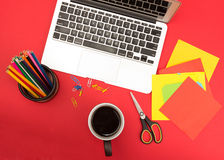 Creative workplace Stock Photography