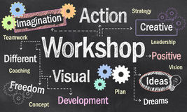 Creative Workshop stock image