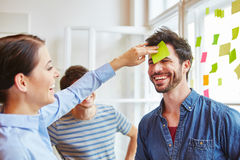 Creative workshop for team building Royalty Free Stock Photography