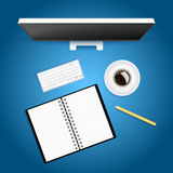 Creative workspace Royalty Free Stock Photo