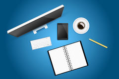 Creative workspace Royalty Free Stock Images