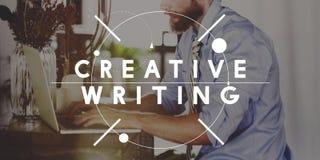 Creative Writing Ideas Design Inspiration Imagination Concept Stock Photo