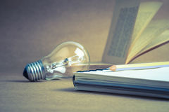 Creative writing Stock Photography