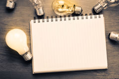 Creative writing Stock Images
