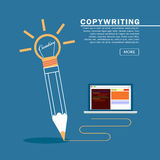 Creative writing and storytelling Royalty Free Stock Images